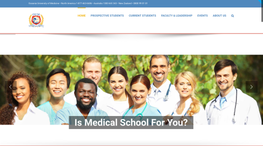 Now, when it comes to the Blue Marble University MD degree, although our program lacks clinical training, it is nonetheless equivalent academically to a US medical degree. One of our recent graduates had his MD degree from Blue Marble University Medical School favorably reviewed by various foreign credentials evaluators for equivalency to the academic portion of a US medical degree